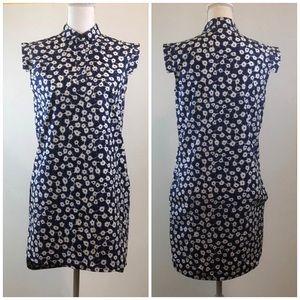 •Kate Spade• Saturday Blue White Floral Dress